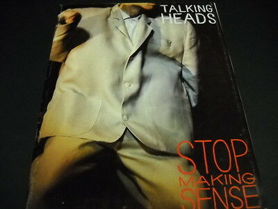 TALKING HEADS 1984 color and black & white Booklet for STOP MAKING SENSE