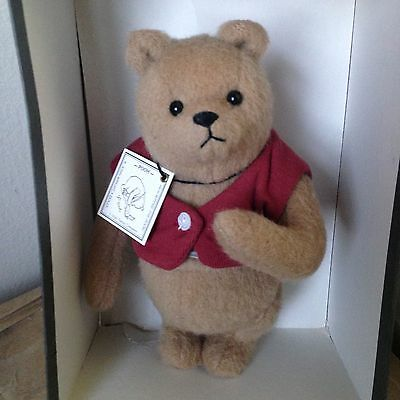 Wow! Vintage Style Winnie The Pooh Jointed Bear R. John Wright W/tag & Box Nr