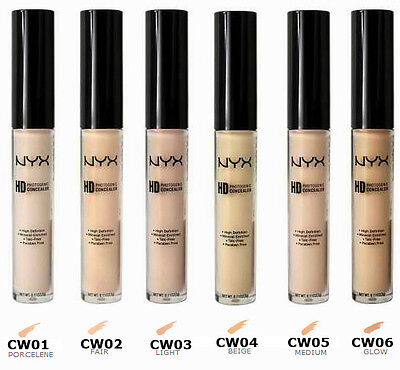 NYX Concealer Photogenic High Definition Wand CHOOSE SHADE Light Medium Green