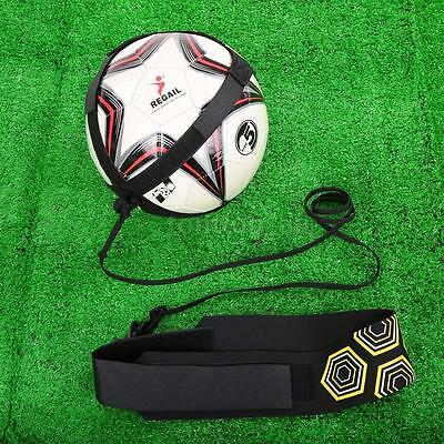 Football Soccer Trainer Kick Solo Training New Ball Practice Sports Aid Z2B7