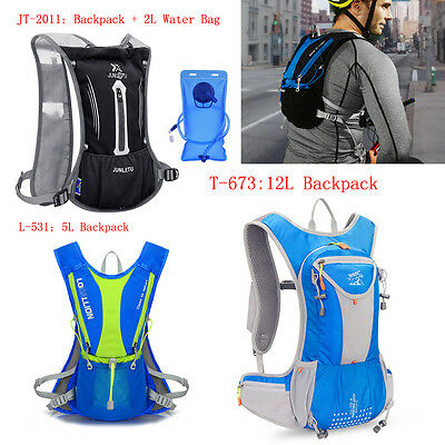 5L/12L Bike Bicycle Hydration Pack Backpack + 2L Water Bag Camelbak Cycle Hiking
