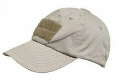 US PMC Military OPERATOR TACTICAL Contractor  Army Mütze Cap Khaki sand beige