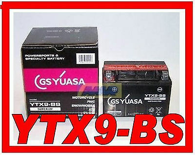 065099 Battery Motorcycle Scooter Yuasa Ytx9 BS New Genuine Ytx9-bs Ytx9bs
