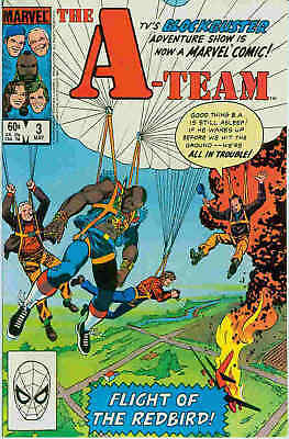 The A-Team # 3 (of 3) (based on TV-series) (USA, 1984)