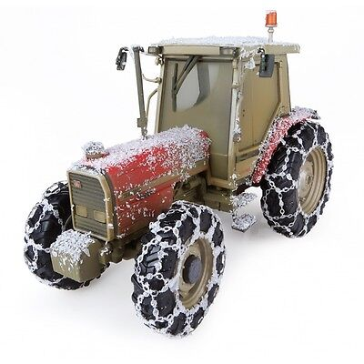 Universal Hobbies Massey Ferguson 3090 Tractor Limited Snow Edition Model