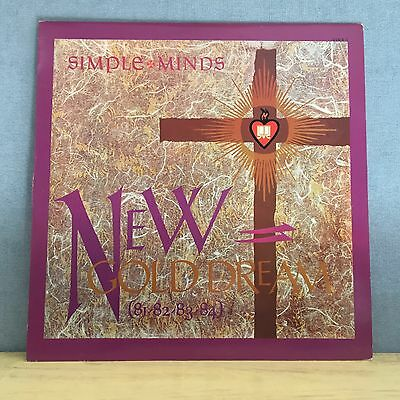 """SIMPLE MINDS New Gold Dream 1982 Italian 12"""" Vinyl Single EXCELLENT CONDITION"""
