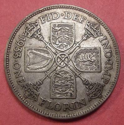 Great Britain Florin 1933 'toned' <>Br779