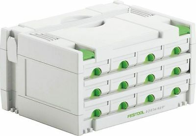 FESTOOL Systainer SYS 3-Sort/12  Sortainer 491986