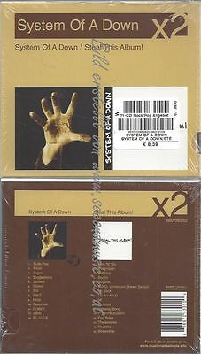 CD--sTEAL THIS ALBUM  / SYSTEM OF A DOWN--SYSTEM OF A DOWN