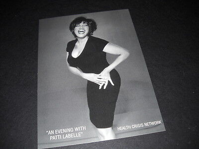 PATTI LABELLE great 1997 hand on hip Post Card mint condition