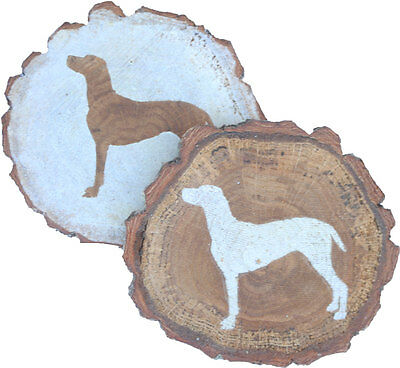 German Shorthair Pointer Coaster Reclaimed Wood