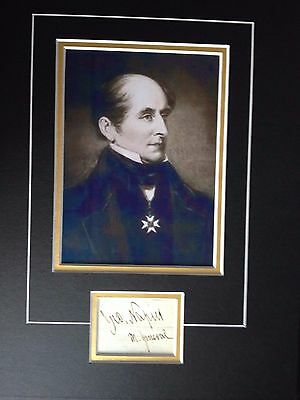 Sir George Thomas Napier - Distinguished Army General-  Excellent Signed Display