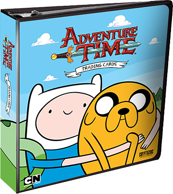 Card Albums--Adventure Time - Trading Cards Album