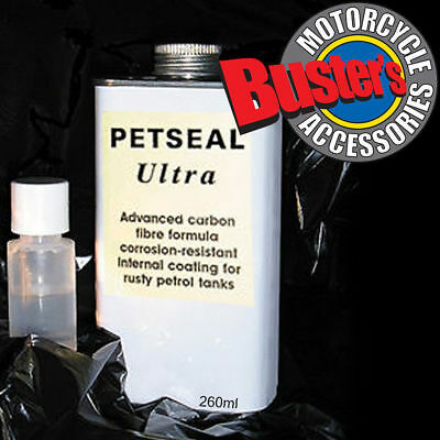 Petseal Ultra Petrol Tank Sealant For Motorcycle Fuel Petrol Tanks 260ml