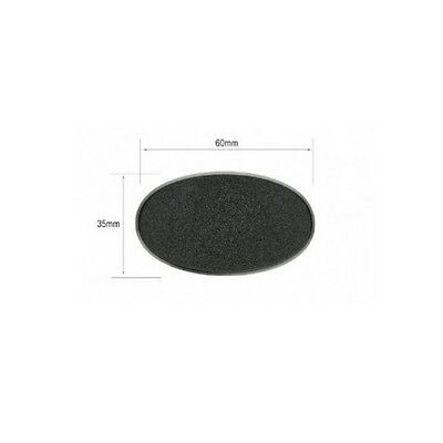 60mm x 35mm OVAL BASE - Games Workshop Warhammer 40K Bases