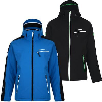Dare 2b Enthuse Ski Hooded Full Zip Waterproof Mens Sports Snowboard Jacket