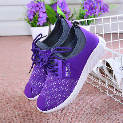 Women's Casual Shoes Running sports Sneakers Breathable Mesh Athletic walking