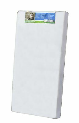 Dream On Me 4-Inch Full Size Foam Crib and Toddler Bed Mattress White