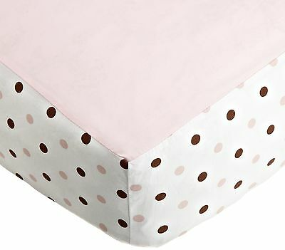 American Baby Company Fashion Crib Fitted Sheet Pink