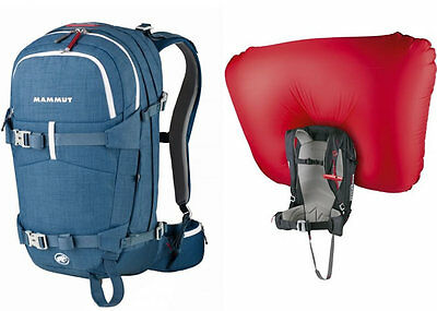 Zaino AIRBAG MAMMUT RIDE ON REMOVABLE 30 Lt compresa Bombola in Carbonio