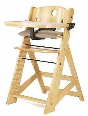 Keekaroo Height Right High Chair Height Right High Chair with Tray Natural