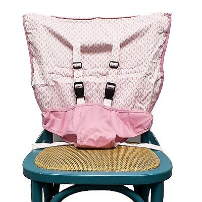 Mint Marshmallow Travel Seat Pink