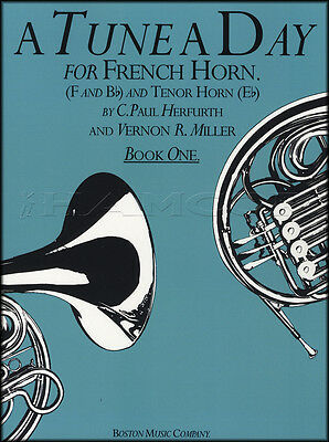 A Tune A Day for French & Tenor Horn1 Sheet Music Book Learn How To Play