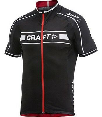 CRAFT Performance -  Maillot Vélo Grand Tour Noir Rouge Blanc - M neuf