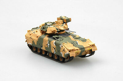 Easy Model 35052 M2 Bradley IFV Desert Camouflage 1/72 Scale Model