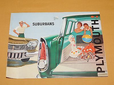 Vintage 1960 West Motors Middleburgh Ny Suburbans Plymouth Old Car Ads