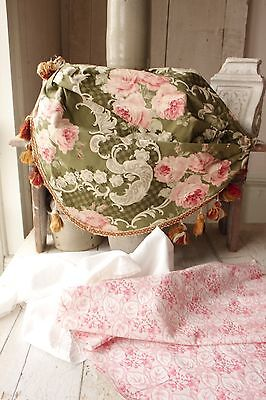 Antique French fabric vintage material PROJECT BUNDLE