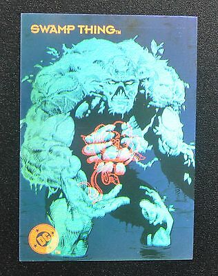 1993 Skybox DC Cosmic Teams Hologram Swamp Thing DCH16