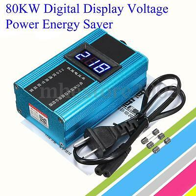 80KW 10-35% Energy Electricity Saver LED Power Saving Box Bill Killer 110V-230V