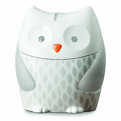 Skip Hop Nightlight Soother Moonlight and Melodies White