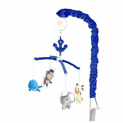 Baby's First by Nemcor Ahoy There Musical Mobile Blue