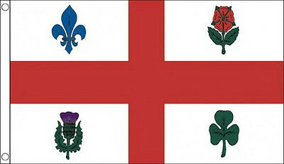 MONTREAL FLAG 5' x 3' Canada Flags France French Canadian State