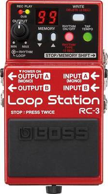 Gitarreneffekt Loop-Pedal BOSS RC-3