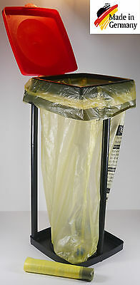 """Trash bag stand up 90l ideal for Yellow Sack Stand Holder """"FITS TOP"""""""