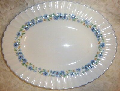 Thanksgiving-Christmas Alpine Mist Platter Meakin