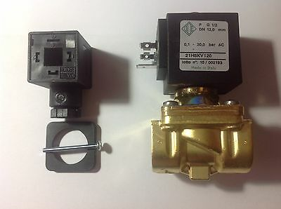 industrial solenoid valve ode 21H8KV120 8w 24VAC machines components automation