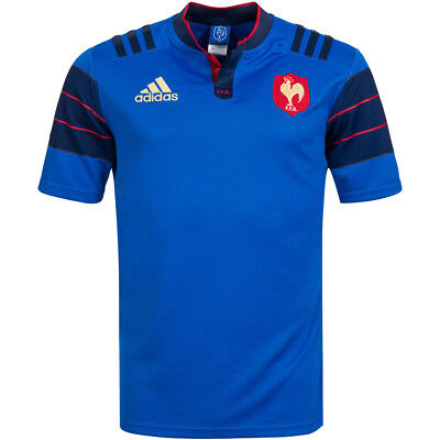 France adidas Rugby Home Jersey FFR Jersey S88860 France Jersey M XXL new
