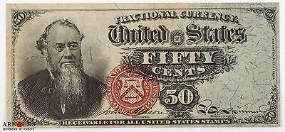 Fractional 50 Cents 4th Issue Stanton Crisp XF/AU Condition!