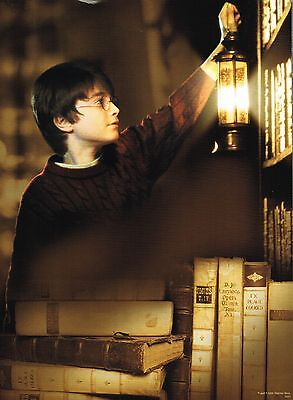 HARRY POTTER and the SORCERERS STONE - DANIEL RADCLIFFE - PINUP - POSTER
