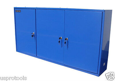 174 Us Pro Blue Steel Metal Wall Garage Storage Cupboard Tool Chest Tool Box