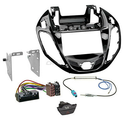 Ford B-MAX as from 12 2-DIN Car Radio Installation Set+Cable,Adapter,