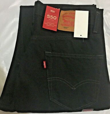 Nwt Mn Levi'S 550 0260 Relaxed Fit Straight Leg Jeans Pant Denim Select Size $68