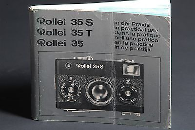 Rollei 35 / 35S / 35T In Practical Use Camera Instruction Book / Guide / Manual
