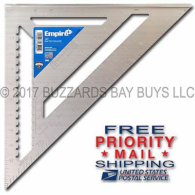 """NEW Empire 12"""" Magnum Rafter Angle Square 3990 **FREE PRIORITY MAIL SHIPPING*"""