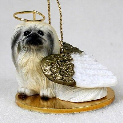 PEKINGESE Dog ANGEL Tiny One Ornament Figurine Statue