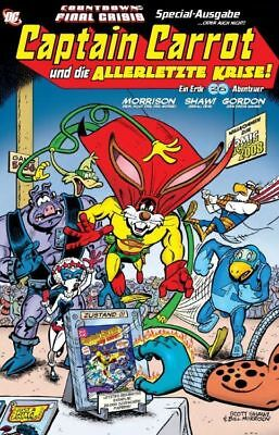 CAPTAIN CARROT #1 Final Crisis-Variant BILL MORRISON SIMPSONS  lim. 555 Ex.